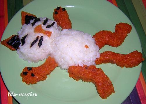 Праздничное блюдо ребенку до года