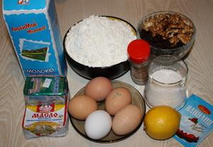 Пошаговый рецепт приготовления пасхального кулича с орехами с фотографиями
