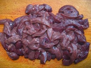 печень говяжья в сметане с грибами рецепт #12