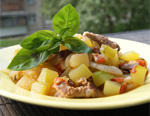 Рецепт приготовления рагу из свиных ребрышек