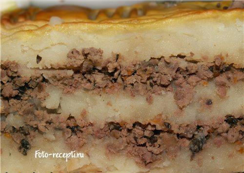 Рецепты картофельных запеканок в духовке с фаршем фото
