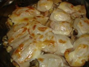 Рецепты блюд из кальмара в духовке