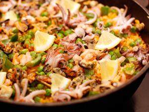 Рецепт приготовления классической паэльи с морепродуктами