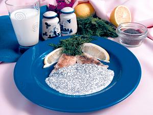 Рецепт приготовления рыбы в маковом соусе