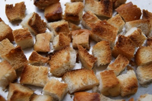 Рецепт приготовления салата Цезарь с креветками