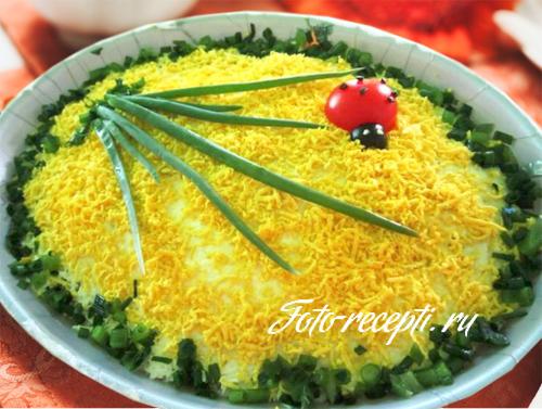 Салат из тунца, пошаговый рецепт с фото