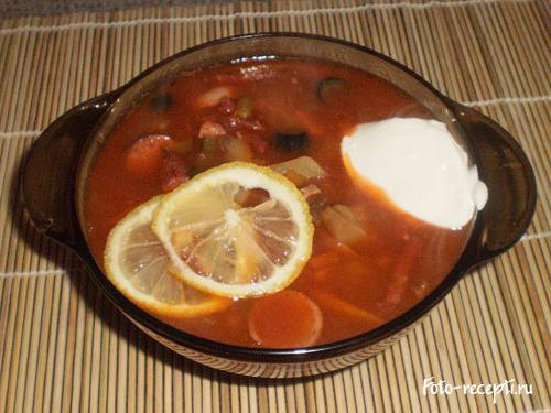 солянка с картошкой рецепт с фото пошаговый