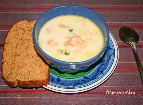 Море-суп или Seafood Chowder