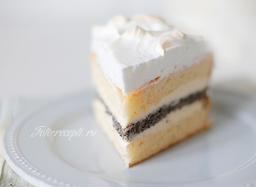 Пирог с творожным кремом рецепты с фото