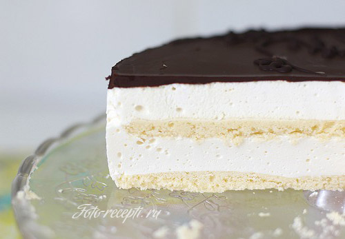 Настоящее птичье молоко торт рецепт пошагово