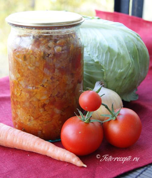 Овощная заправка для супов консервированная