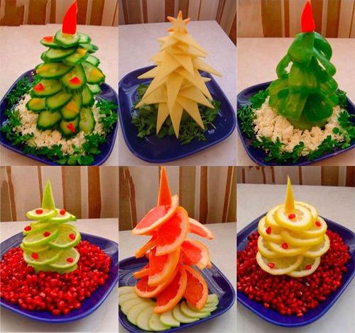 Что приготовить на Новый год: съедобные елочки