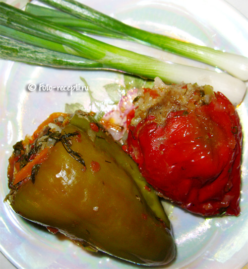 Перец фаршированный с картошкой рецепт пошагово
