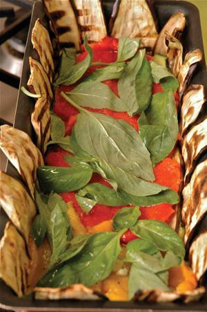 Рецепт овощного рулета
