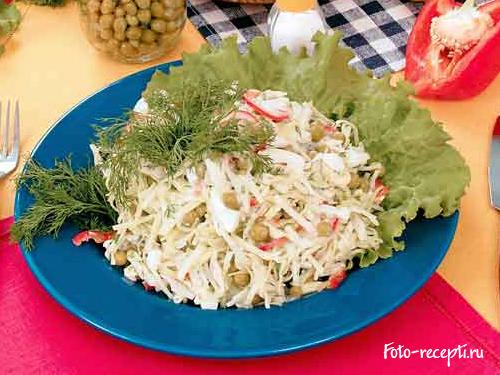 как приготовить салат из зеленого перца