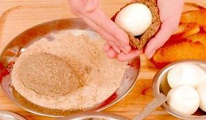 яйца в кляре рецепт с фото